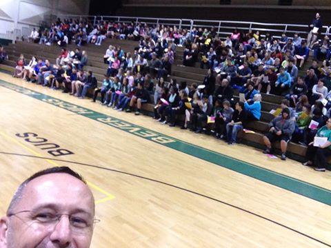 8th Grade Students visit Gulf High
