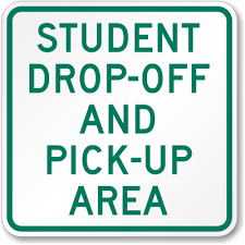 Student drop off and pick up changes